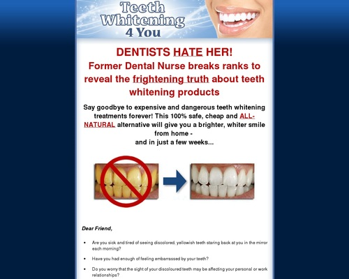 Teeth Whitening 4 You – How to Whiten Your Teeth Easily, Naturally & Forever!